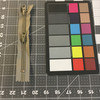 "6.5"" Coil Zipper - 2 pulls | Black | Military Repair | Bags / Pockets"