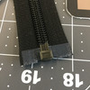 "26.5"" Separating Coil Zipper | Black | YKK Brand | Jacket Zipper."