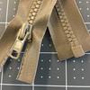 "32"" Separating Zipper | Tan | Molded Plastic | YKK Brand | Jackets"