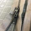 """42.5"""" Metal Zipper - 3 pulls   Foliage Green   Military"""