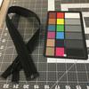 "24"""" Separating Coil Zipper | Black | YKK Brand | Jacket Zipper"