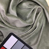 rolled velour sage green