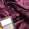 """Grape Purple Satin Fabric   100% Polyester   Special Occasion Apparel   60"""" Wide   By the Yard"""