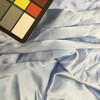"""Light Blue Silky Solid Fabric 