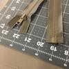 "32.5"" Separating Zipper | Tan | Molded Plastic | YKK Brand | Jackets"