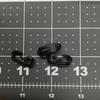 Boot Hooks | Black Plastic | Military / Hiking Boot Repair | Sold in Packs