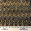 Decorative Chevron Orange / Brown | Heavy Upholstery Fabric | 54 Wide | By the Yard