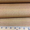 """5.8 Yard Piece of Upholstery Fabric   Red and Gold Herringbone   54"""" Wide"""