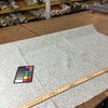 "2.55 Yard Piece of Home Decor Fabric | Bohemian Lattice Muted Blue / White | Upholstery / Drapery | 54"" Wide"