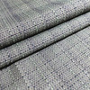 """3.05 Yard Piece of Upholstery Fabric   Taupe / Black / Green Textured Weave   54"""" Wide"""