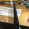3.05 Yard Piece of Indoor / Outdoor Fabric   Black   54 Wide   Upholstery