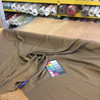 """6.8 Yard Piece of Drapery Fabric   Brown Textured Weave   54"""" Wide"""