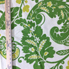 """Alexandria Scroll Green / Off White  
