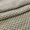 """Raised Dots Beige / Green   Upholstery Fabric   54"""" Wide   By the Yard"""