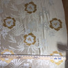 """Floral Beige / Tan / Gold 