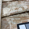 """Decorative Shabby Stripes Peach / Tan   Home Decor Fabric   Upholstery / Drapery   54"""" Wide   By the Yard"""