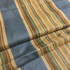 """Vintage Stripes Teal Blue / Brown 