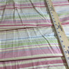 """Vintage Stripes Pink / Yellow / Green   Home Decor Fabric   Upholstery / Drapery   54"""" Wide   By the Yard"""