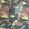 """Contemporary Abstract Leave Green / Brown   Upholstery Fabric   54"""" Wide   By the Yard"""