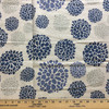 """Blue / Gray Modern Floral 