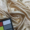 """Light Beige Silky Solid Fabric 