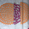 """Modern Floral Beige / Pink / Orange 