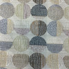 """Contemporary Circles Brown / Black / Gray 