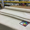 """4.3 Yard Piece of Upholstery Fabric    Solid Off White   54"""" Wide"""