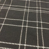 """Windowpane Plaid Black / Off White  