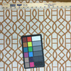 """Velvet Lattice Brown / Off White 