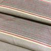 """Stripes in Tan / Red / Gold 