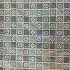 """Checkered Floral Green 