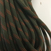 34.8 Yard Piece of Safety Rope | 11 mm | Army Green with Red | By the Piece | Remnant...