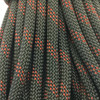 34.8 Yard Piece of Safety Rope   11 mm   Army Green w/ Red   By the Piece   Remnant
