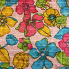 Pink/ Multi Floral Print 2 Way Stretch Fabric | By The Yard | 44/45 inch wide