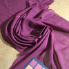 Burgundy Solid Polyester Chiffon Fabric | Lightweight Drape for Special Occasions |By The Yard | 60 inch Wide