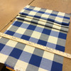 """Blue and Beige Check Plaid 