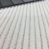 """Textured Stripes Solid Off-White 