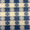 """3.8 Yard Piece of Blue and White Tavern Check 
