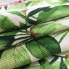 """Tropical Foliage Green / White 