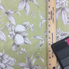 """Sepia Floral on Green 