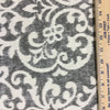 """Modern Damask Gray / Off White 