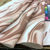 """Abstract in Rose Pink and White   Home Decor Fabric   54"""" Wide   By the Yard"""