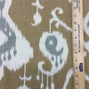 """Modern Ikat in Brown / Gray / Beige 