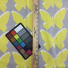 """Modern Butterflies in Yellow and Gray 