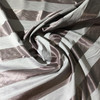 """Orchid / Gray Vertical Wide Stripes   Home Decor Fabric   Drapery / Light Upholstery   54"""" Wide   By the Yard"""