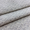 """Off-White / Grey Textured Weave   Upholstery Fabric   54"""" Wide   By the Yard"""