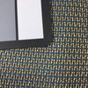 """Kepler in Horizon   Blue / Bronze   Upholstery Fabric   54"""" Wide   By the Yard"""