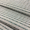 """Plot Lines Vade   Blue / Ivory   Upholstery / Slipcover Fabric   54"""" Wide   By the Yard"""