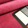 """Indulgence in Dragon Fruit Pink   Microfiber Velvet Fabric   Upholstery   Valley Forge   54"""" Wide   By the Yard"""